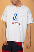 Load image into Gallery viewer, nautica tee. 90s vintage. magichollow.