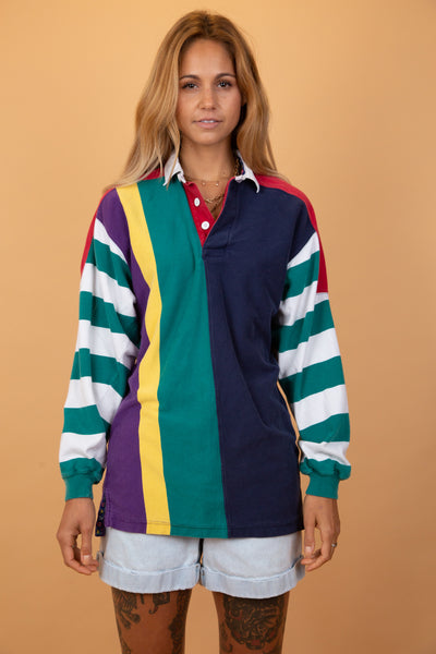 rugby jersey in many multi-colours