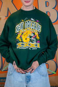 1997 New Orleans Packers Sweater
