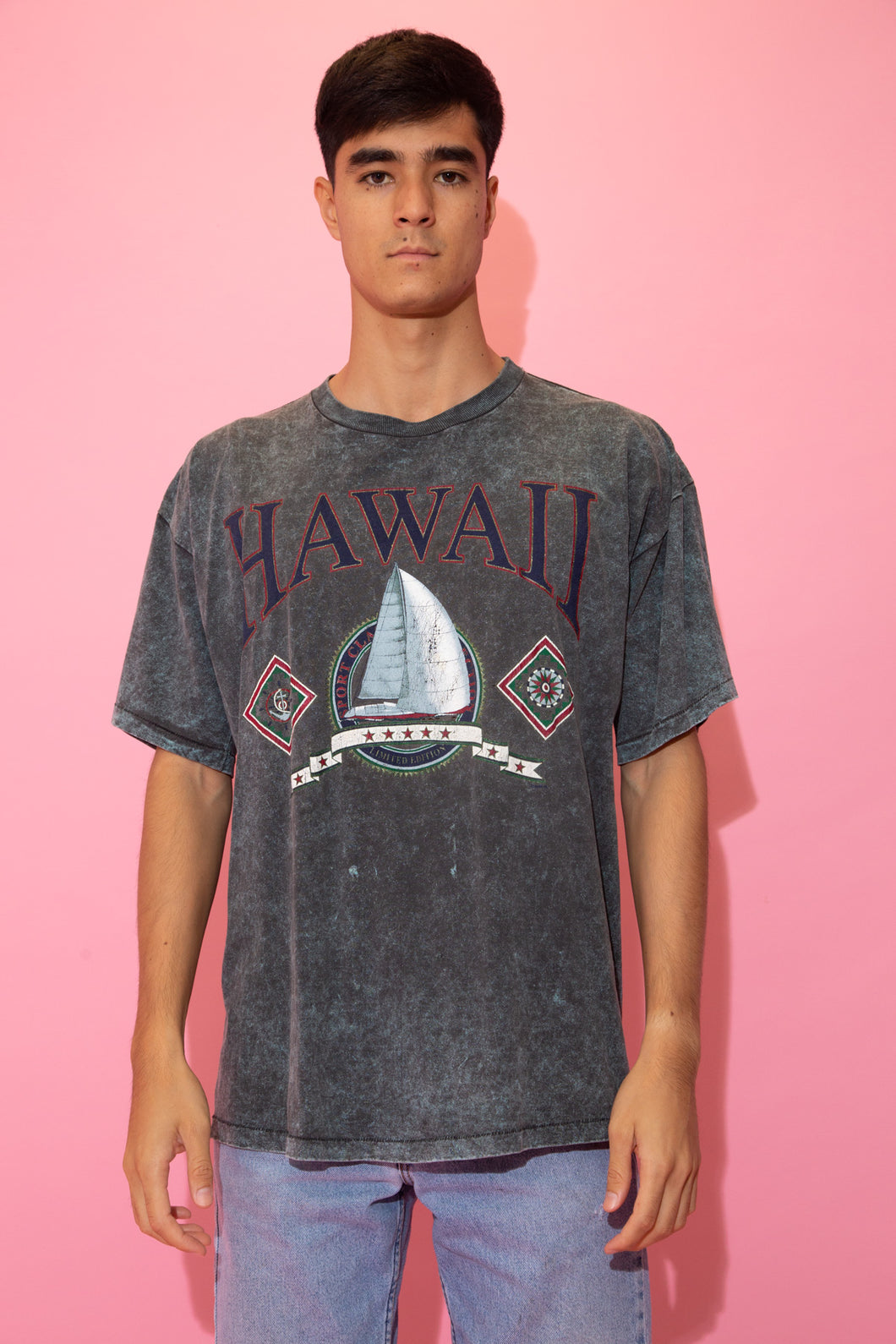 Distressed Hawaii Tee