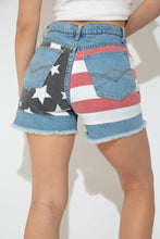 Load image into Gallery viewer, Model wearing USA shorts, magichollow