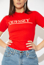 Load image into Gallery viewer, model wearing Hanes Odyssey Beefy-T, magichollow