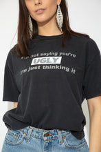 Load image into Gallery viewer, Model wearing slogan tee, magichollow