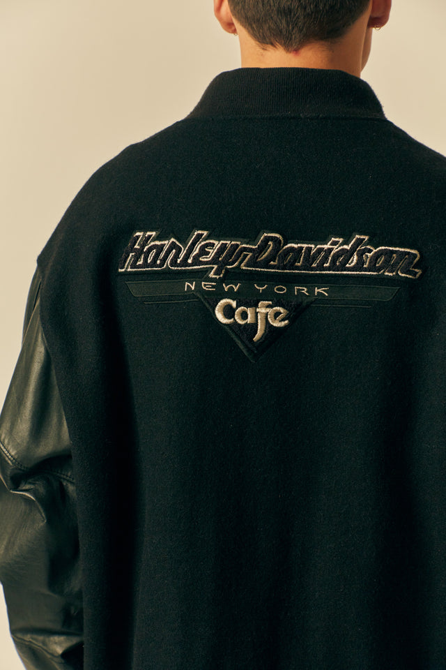 Harley Davidson Leather Bomber