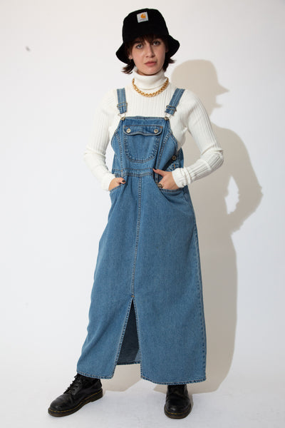 Route 66 Denim Pinafore