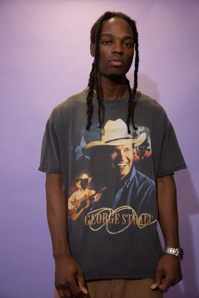 Distressed George Strait Tee