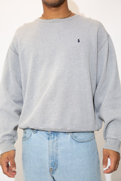 Distressed Ralph Lauren Sweater