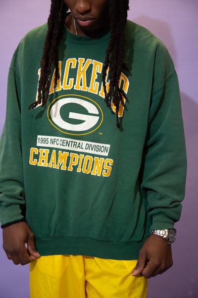1995 Packers Spell-Out Sweater