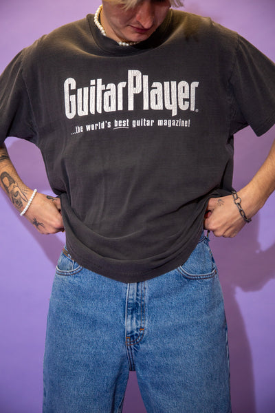 Distressed Guitar Player Tee