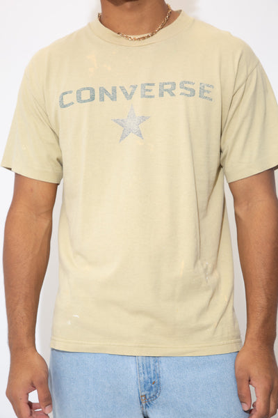 Distressed Converse Tee