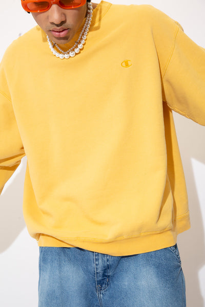 Distressed Champion Sweater