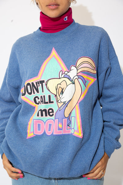 Space Jam 'Don't Call Me Doll!' Sweater