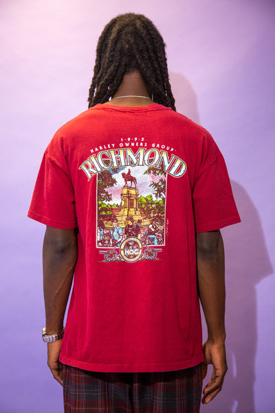 1995 Richmond Harley Tee