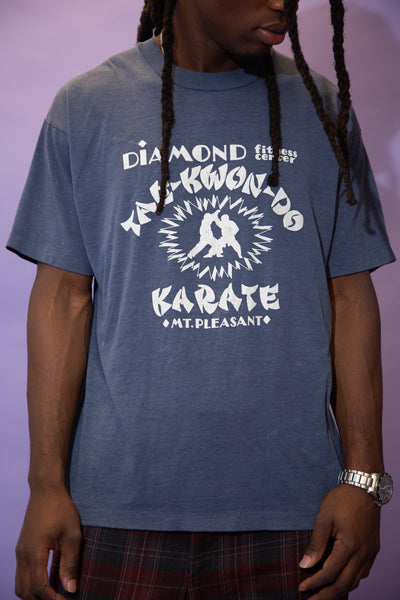 Distressed Diamond Karate Tee