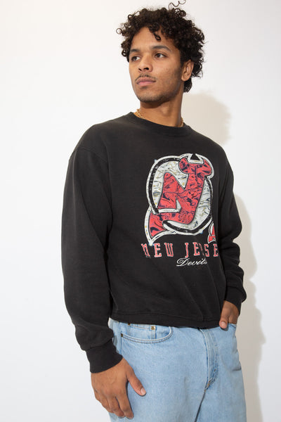 Distressed New Jersey Devils Sweater