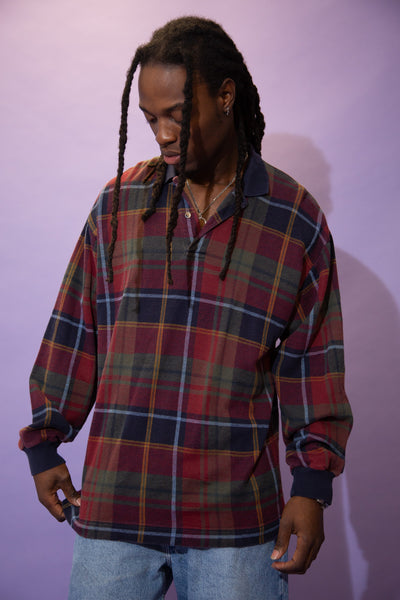 Nautica Plaid Polo
