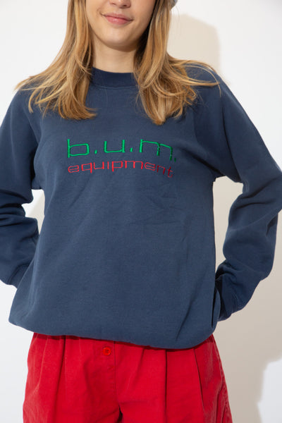 Distressed B.U.M Equipment Sweater