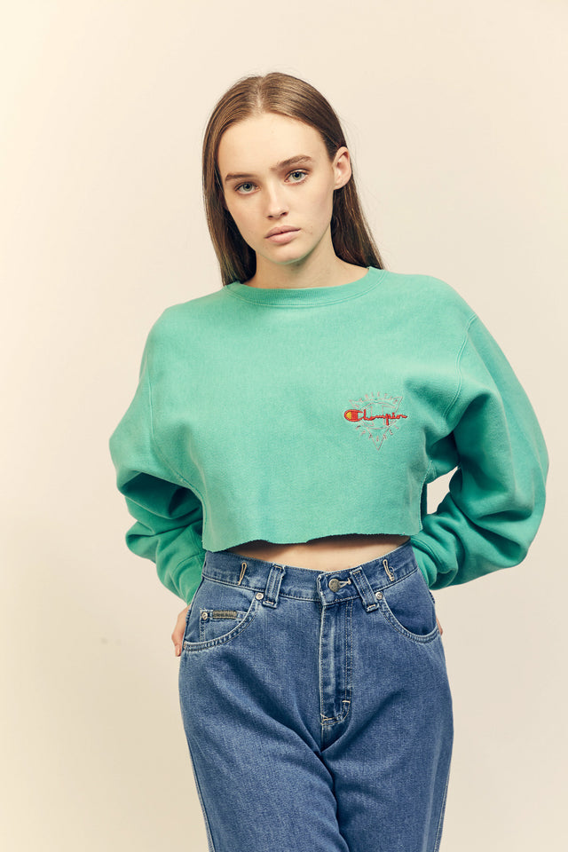 Champion Crop Sweater