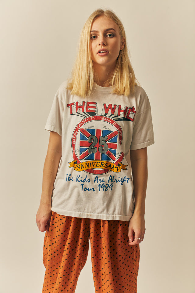 The Who '89 Tee