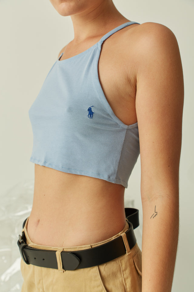 Ralph Lauren High Neck Crop
