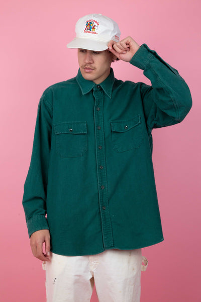Forrest Button Up