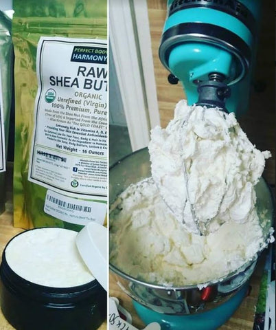 Moisturizing Whipped Body Butter Recipe with Shea butter