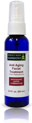 Botanical Based Anti Aging Facial Treatment with Vitamin C (Replaces Toner)