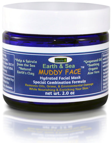 Spa Quality facial clay mask- premixed for your convenience- perfect body harmony