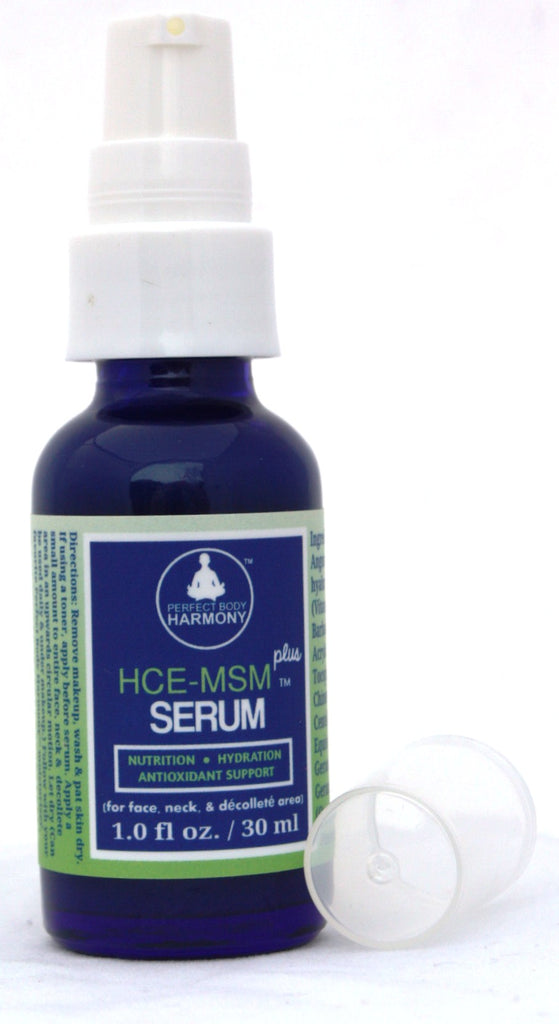 HCE-MSM Plus Anti Aging Super Serum for Face, Eyes, Neck Contains Powerful  Organic Botanicals
