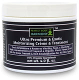 Ultra Nutrient Moisturizing Creme; Exotic Hydrating Cream; 70% Organic w/ Plant, Flower & Nut Oils