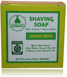 Organic Shaving Soap - Lemon Fresh