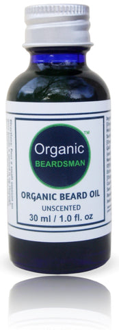 Organic Beardsman™ Brand - Organic Beard Oil (Unscented)