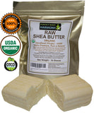 Certified Organic Raw Shea Nut Butter BAR 16.0 OZ [ONE FULL LB]