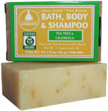 Organic Soap - Tea Tree & Calendula (Acne Fighting Soap)