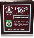 Organic Shaving Soap - Urban Woodsman™ Scent