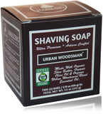 Organic Shaving Soap - Urban Woodsman™ Scent - perfect body harmony
