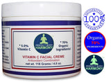 Vitamin C Anti Aging Facial Creme (Cream)