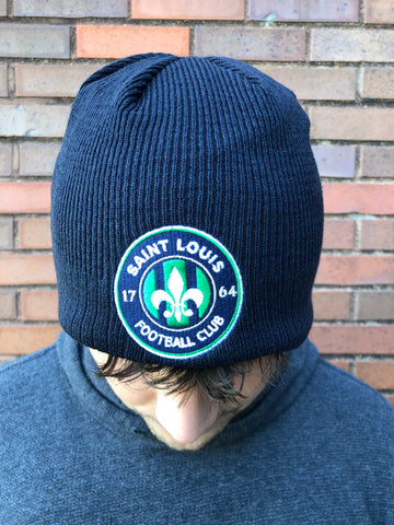 STLFC New Era Knit Beanie (Navy)