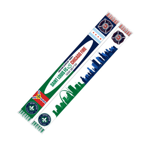 Lamar Hunt Open Cup Scarf STLFC Vs Chicago Fire