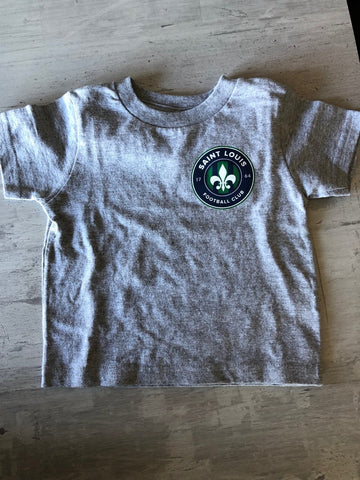 Grey Shirt With Logo - Infant