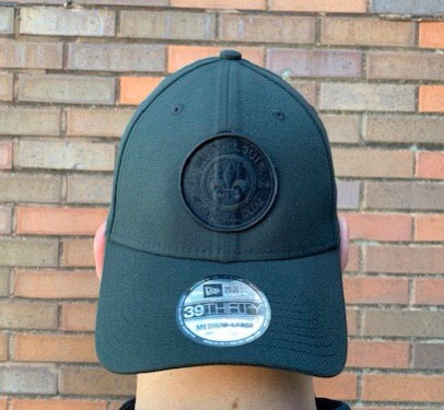 New Era 3930 - STLFC Logo  - Black On Black