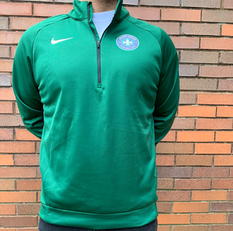 "STLFC NIKE Adult 1/4"" Zip Pullover"