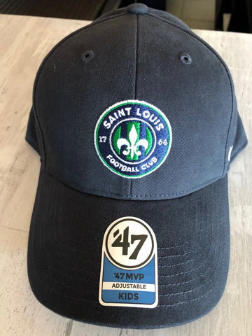 STLFC Primary Logo Hat - Navy - Youth