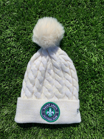 New Era STLFC Women's Cable Knit Hat