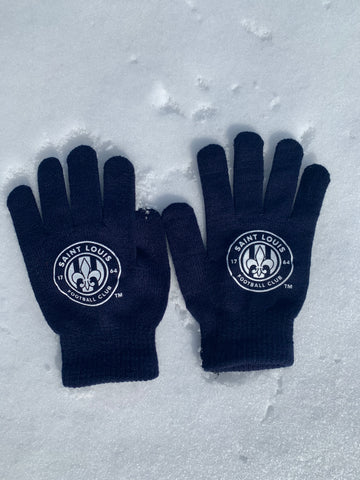 STLFC Logo Knit Gloves