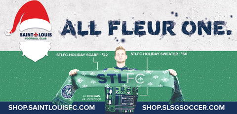 STLFC Holiday Scarf -