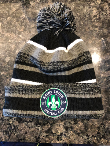 New Era STLFC Winter Hat - Black/Graphite