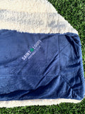"STLFC Wordmark 50"" x 60""  Fleece/Sherpa Blanket"
