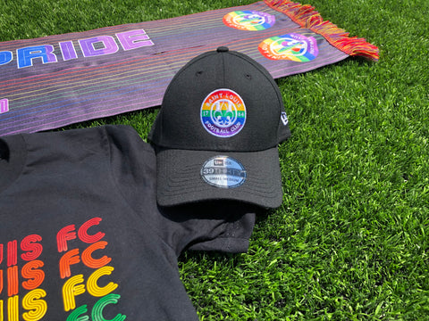 New Era STLFC Rainbow Primary Logo Hat
