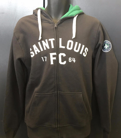 STLFC Adult Anthracite Full Zip